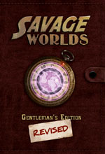Savage Worlds Gentlemen's Edition Revised Cover