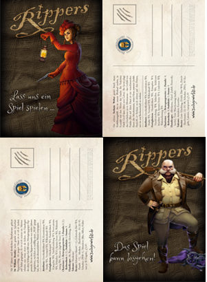 Rippers-Postkarten