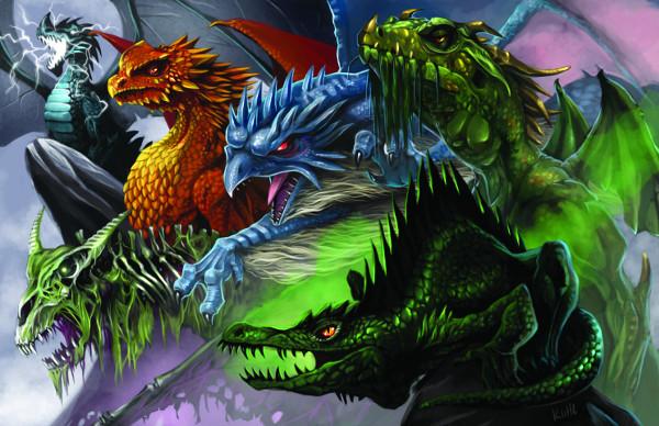 Hellfrost Drachen
